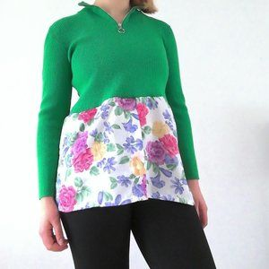NineWest shirt with a flowerly bottom